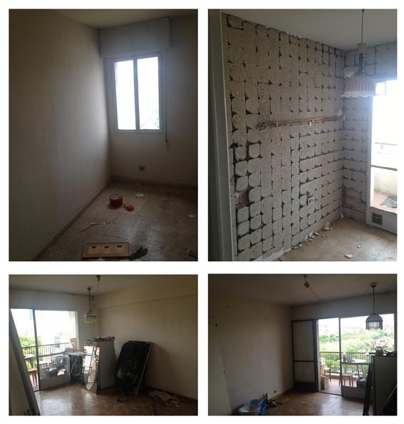 estado inicial de vivienda para reformar en barrio del Pilar