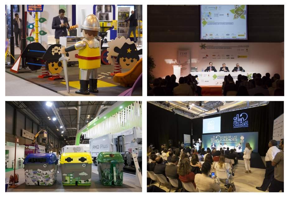 Tecma Feria Internacional Urbanismo y Medio Ambiente en Madrid IFEMA playmobil