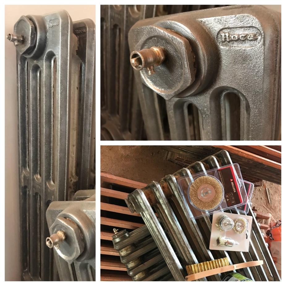 restauración y recuperación con arreglo de radiadores antiguos de hierro fundido.JPG